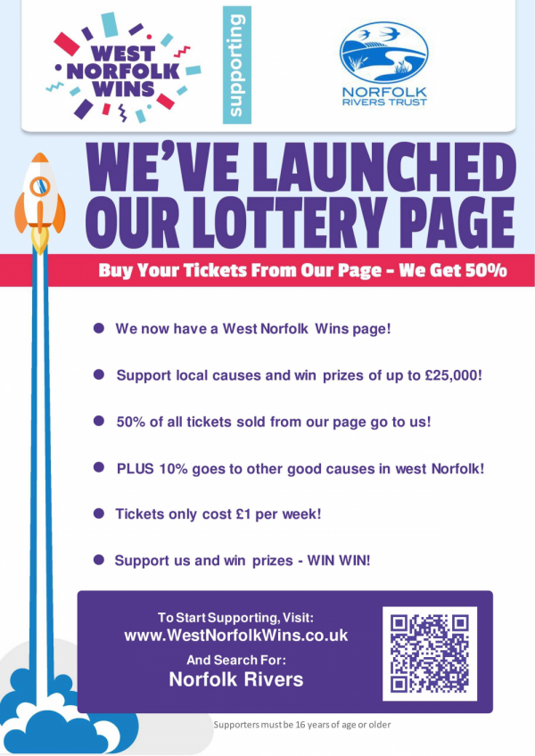 Buy your lottery tickets from our page and support our work!